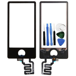 Touch Screen Digitizer Glass Panel Replacement For Apple iPod Nano 7 7th Gen