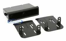 Scosche NN1676B Double/Single DIN Dash Install Kit for 12 + Nissan Versa/S Model