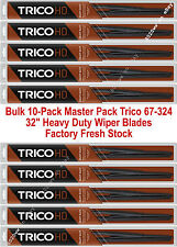"10-Pack 32"" Trico Heavy Duty Wiper Blades For 12x4 Large Hook Arms 67-324 x 10"