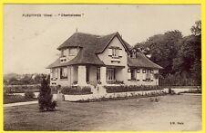 """cpa 60 - FLEURINES (Oise) MAISON VILLA """" CHANTOISEAU """""""