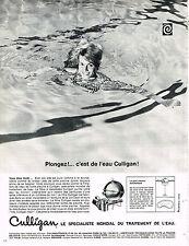 PUBLICITE ADVERTISING 054  1966   CULLIGAN   traitement de l'eau