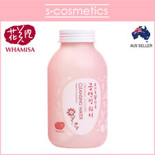 [WHAMISA] Organic Flowers Cleansing Water 285ml Cleanser