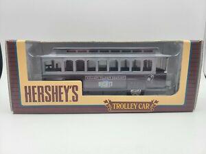 1995 Ertl Hershey's Chocolate Trolley Car Transit Company Die-Cast Metal Bank