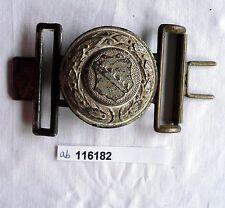 seltenes Koppelschloß für Offiziers Feldbinde Freistaat Sachsen (116182)