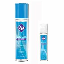 ID Glide Water based Personal Lubricant Massage Lube Body Glide 17oz & 1oz