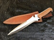 Handmade Carbon Steel 1095 RE4 Krauser's Knife,Bowie knife,Tactical Knife