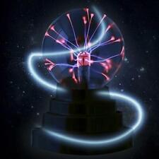 USB Plasmakugel Magic Crystal Globe Desktop Light Blitzlampe Nebel Kugel H6F2