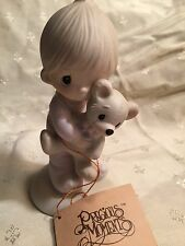"Precious Moments ""Jesus Loves Me"" Great Condition w/Tag"
