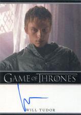 Game of Thrones Season 4 Autograph Card Will Tudor as Olyvar