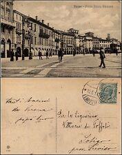 Verona, piazza Vittorio Emanuele, viag.1917, animta condizioni perfette