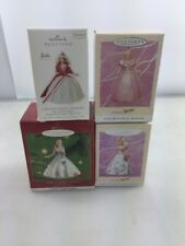 Hallmark Keepsake Ornaments Barbies Lot Is 4 NEW Originals Collector Edition