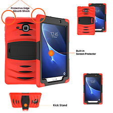 Heavy Duty Shock Drop Proof Case Cover For Galaxy Tab A 7 inch T280/T285 RED