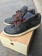 NIKE DUNK LOW LASER BY MICHAEL DESMOND BROWN 308429 001  10  SB High Supreme Max