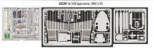 Eduard 1/32 Heinkel He 162A Salamander Interior Grabado para Revell kit # 32539