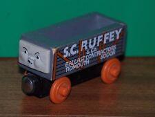 Thomas and Friends Wooden Railway S. C. RUFFEY Ballast Load Train orange wheels