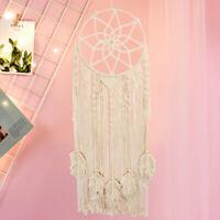 Cotton Macrame Dream Catcher Boho Handmade Wall Hanging DreamCatcher Home Decor