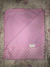 Baby Girls Pink Fleece Dimple Blanket