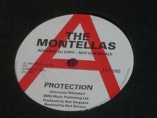 "Montellas:  Protection  7""  UK PROMO"