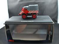 Schuco 03109 camion Pompiers Mercedes-Benz Unimog 401 Stadtwerke Köln 1/43 mint