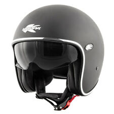 Casco jet fibra Kappa Kv29 nero opaco M moto scooter helmet casque