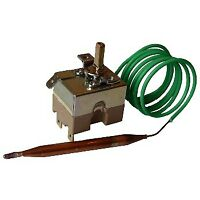 Thermostat with Capillary Tube Thermostat Control 20-90°C 3 Contacts 1000mm