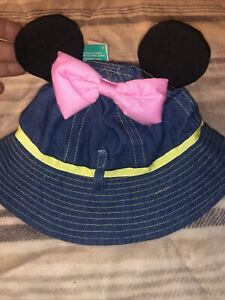 Minnie Mouse Disney Baby Bucket Hat 6-12 Months New NWT