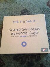 Saint Germain Des Pres Cafe Vol 3 & 4 New CD