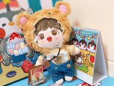 Bear Suit 15cm 20cm Doll Clothes Hat Clothing For Star Idol Doll Accessory Sa
