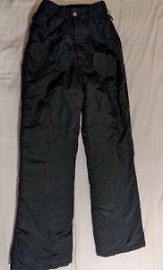 Obermeyer Ski Cargo Pants Snow Winter Black Men's Small Double Layered