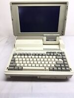 Vintage Toshiba Clamshell Laptop T1600 Model: PA8010U W **For Parts**