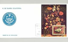 Equatorial Guinea 1986 Scouts, Rotary o/p on Bicentennial S/S on FDC