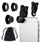 Camkix Universal 3 in 1 Cell Phone Camera Lens Kit - Fish Eye Lens / 2 in 1 M...
