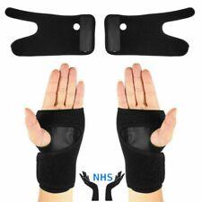 Elastic Wrist Support Brace - Carpal Tunnel Splint Night Pain Carpel Left Right