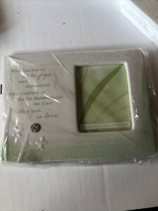"""Hallmark """"What Touches Us"""" 3x4 New In Box Picture Frame"""