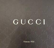 Authentic Gucci Brown Logo Empty Storage Shoe Box