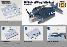 Wolfpack 1/72 F6F Hellcat folding wings for Eduard WP72061 - resin set