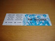 Michael Jackson The Jacksons Destiny World Tour Unused France French MEGA RARE