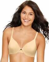 Hanes Ultimate T-Shirt Bra Underwire ComfortBlend Womens Soft Concealing Petals