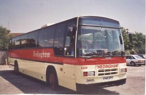 Bus photo F145SPV Hedingham ex Partridge Ld Tiger Plaxton Paramount @ Southend