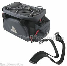Axiom Paddywagon EXP19 Bike Trunk Rack Bag Insulated Pack w/ Panniers 1160ci
