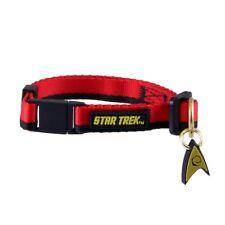 Star Trek Uniform Cat Collar Red