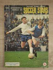 Album FKS Wonderful World of SOCCER STARS 1968-1969 UK Full FOOTBALL No Panini