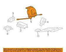 Gm Oem Airbag Air Bag-Clockspring Clock Spring 92284316