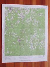 Jonesboro Louisiana 1958 Original Vintage USGS Topo Map