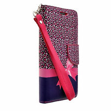 For ZTE ZMAX PRO Carry Z981 MetroPCS PU Leather Wallet Pouch Case Cover