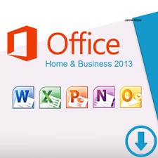 Microsoft Office Home and Business 2013 | 1PC Key Produktschlüssel 32 & 64 Bit