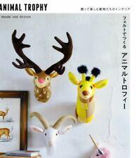 Hande und Stitch Felt Animal Trophy - Japanese Craft Book