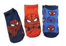 New Marel Spiderman Kids 3 pack Socks, size 2T-4T, Super Hero Sock