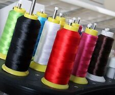 Threadart Polyester Embroidery Thread - Huge 5000m Cones - 40 wt - 160 Colors