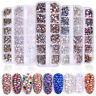 DIY Flat Back Nail Art Rhinestones Glitters Diamonds 3D Tips Manicure Decor 1Box